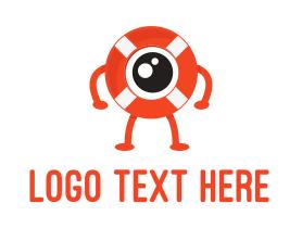 Guard - Eye Guard logo design