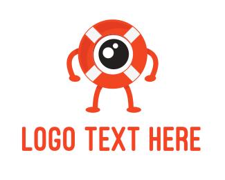 Lifeguard - Eye Guard logo design