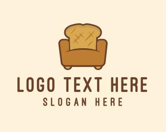 Bread Sofa logo design