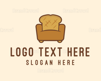 Bread - Bread Sofa logo design