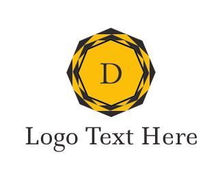 Diamond Letter D Logo