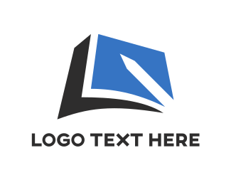 Blue Note - Pen & Notes logo design