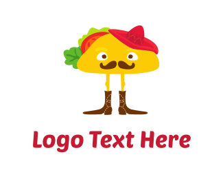 Spicy - Mister Taco logo design