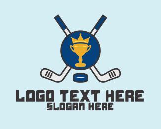 Winning - Hockey Tournament logo design