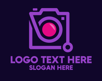 Electronics - Modern Instagram Camera  logo design