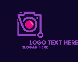 Blog - Modern Instagram Camera logo design