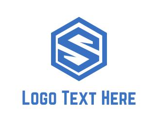 Patrol - Shield Letter S logo design