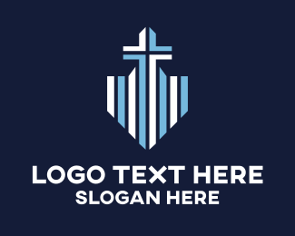 Chapel - Blue Cross Shield logo design