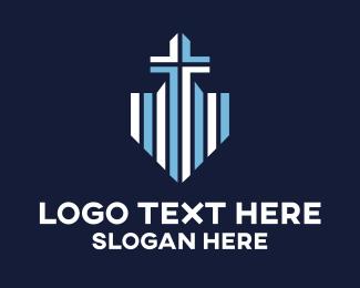 Shield - Blue Cross Shield logo design