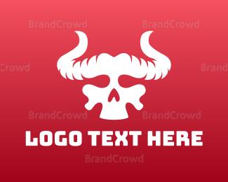 Diablo - Devil Skull logo design