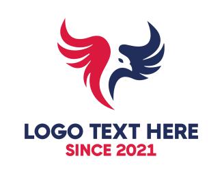 American Eagle - Modern Eagle logo design