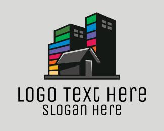 Contemporary - City Builder Contractor  logo design