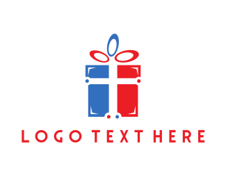 Red And Blue - Faith Gifts logo design