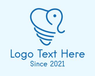 Dental - Elephant Dental Clinic  logo design