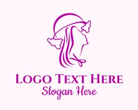 Beauty - Lady Hair Salon logo design