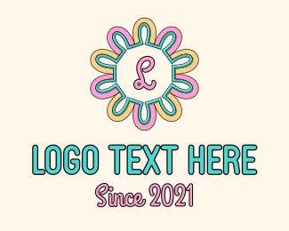 Pastel - Pastel Color Flower  logo design