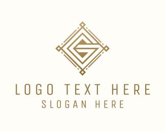 Account - Elegant Pattern Letter G logo design