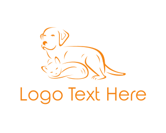 Cat And Dog - Cat & Dog logo design