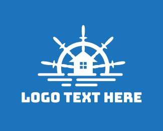 Villa - Ocean House logo design