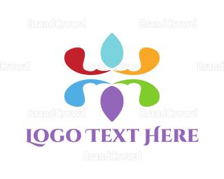 Emblem - Floral Emblem logo design