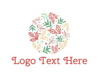 Floral - Floral Circle logo design
