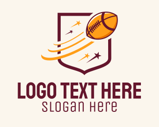 Football - American Football Stars  logo design