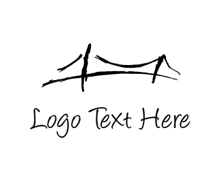 Sketch - Black Bridge logo design