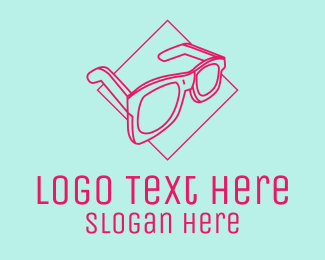 Sunglasses - Summer Sunglasses  logo design