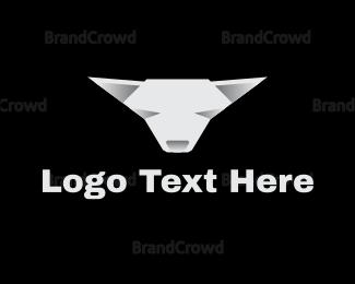 White - White Chihuahua logo design