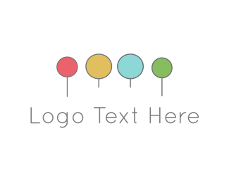 Coloring - Colorful Circles logo design