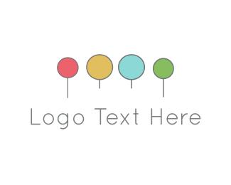 Popsicle - Colorful Circles logo design