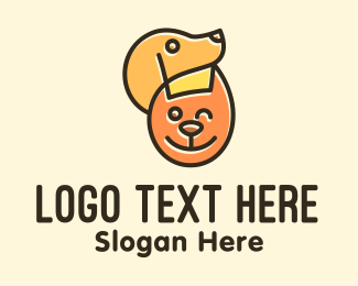 Doggy - Cat & Dog Pets logo design