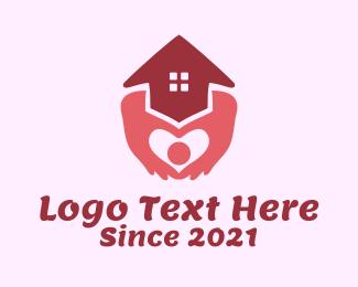House - Nursing Home Charity logo design