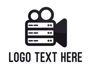 Film - Film Server logo design