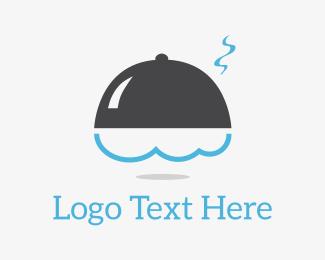Cater - Serve Cloud logo design