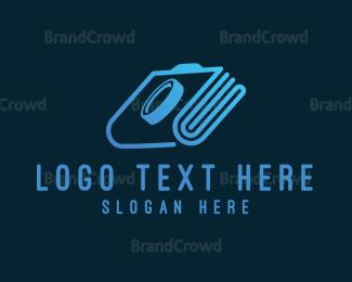 Editor - Photo Album logo design
