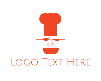 Spaghetti Chef Logo