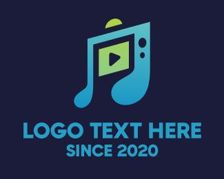 Channel - Music Youtube Channel logo design