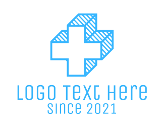 Plus - Blue Cross logo design