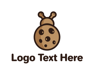 Biscuit - Cookie Bug logo design