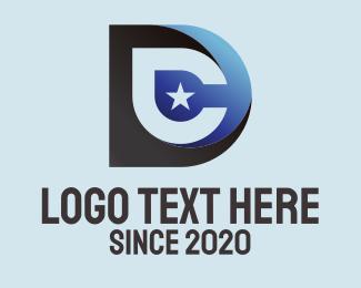 Star Letter D Logo