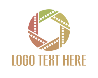 Cinematography - Film Circle logo design