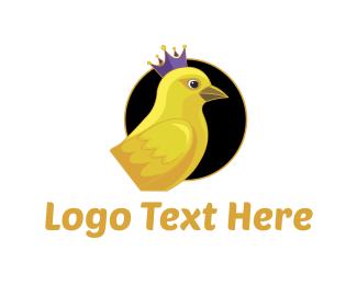 Canary - Royal Canary logo design