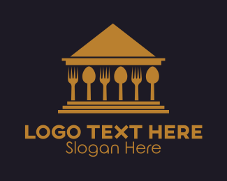 Dinnerware - Food House logo design