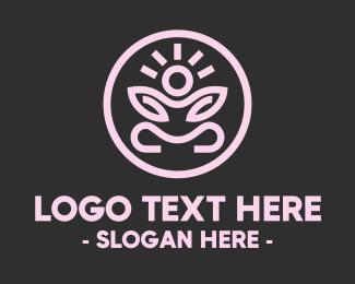 Zen - Zen Yoga Pose logo design