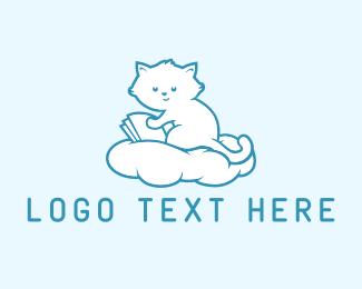 Fairy Tale - Cloud Kitten logo design