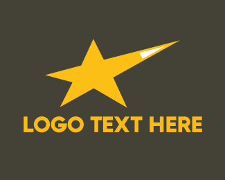 Acting - Yellow Star logo design