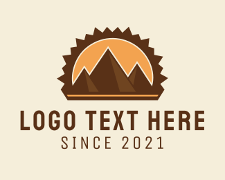 Brand - Mountain Pyramids logo design