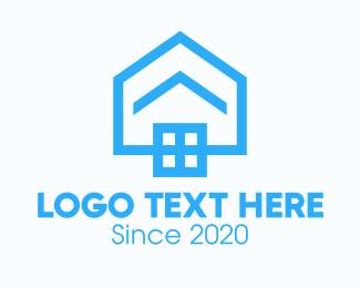 Construction - Blue Housing Property logo design