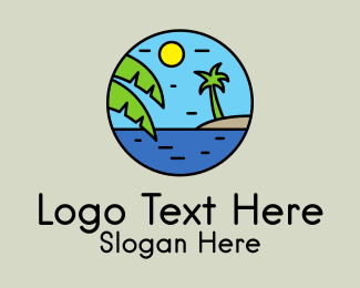 Resort - Tropical Resort logo design